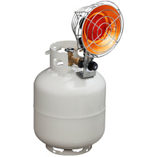 DAYTON 5RCC0 9000//15000 BtuH Tank Top Portable Gas Heater LP