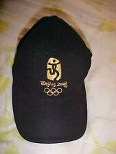 2008 Beijing China Olympic Games Cap Collectible Gold Stitching Rings Runner