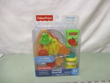 Fisher Price Squeeze juice box fun food Counting Pizza set pretend play NEW