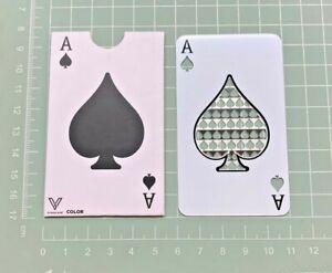Ace of Spades, Grinder Card Size  [ 5.4 cm W x 8.5cm H ] Metal Tool