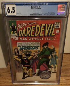 Daredevil 5 CGC 6.5 OW/W Pages