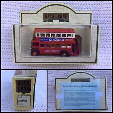 Days Gone - Lledo 1932 Aec Regent Double Deck Bus Cinzano