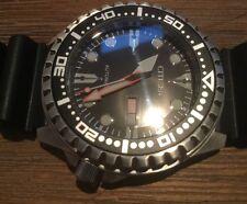 CITIZEN Men's Rubber Band NH8380 NH8380-15E Automatic Diver Sport Watch Black