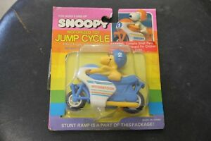 Vintage Peanuts Gang ,Woodstock  motorcycle, motorcycle toy,tin,cast iron