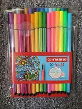Stabilo Pen 68 Fibre-Tip Pen Set 30 Colors