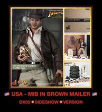 USA MIB Hot Toys DX05 Indiana Jones Raiders of Lost Ark Harrison Ford 12 Figure