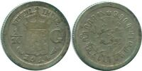 1914 NETHERLANDS EAST INDIES 1/10 GULDEN SILVER Colonial Coin #NL13288.3U