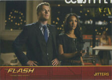 Flash Season 1 Locations Gold Logo Parallel Chase Card #L4 Jitters
