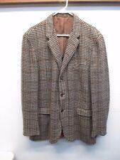 Chester Barrie Handmade in GB 100% Cashmere Men's Brown Blazer Sport Coat 45L