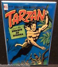 "Tarzan #4 Vintage Comic Book Cover 2"" x 3"" Fridge Locker MAGNET Burroughs"