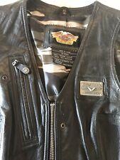 Gepflegte Harley-Davidson original Damen Lederweste in 36-38 Neuwertig Weste