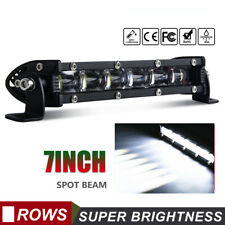 6D 7INCH CREE LED WORK LIGHT BAR SPOT OFFROAD ATV FOG TRUCK LAMP 4WD 12V 6""