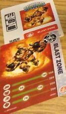 Skylanders Blast Zone Card & Code ONLY ~ NO FIGURE