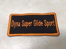 HARLEY DAVIDSON Dyna Super Glide Sport Patch