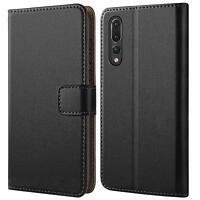 Book Cover Huawei P20 Pro Handy Hülle Schutzhülle Tasche Flip Case Brieftasche