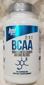 New BPI Health BCAA Branch Chain Amino Acids 90 Capsules