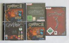 Gothic - Trilogie - PC Spiele Sammlung - Gold Edition - Götterdämmerung