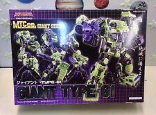 Transformers Giant Series Giant Typre-61 Devastator Action Figure Maketoys