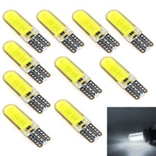 10pcs T10 12V W5W LED Car Interior Light COB Wedge Dome Light Bulb Silica Gel