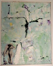Abstrait Surrealiste Symboliste  Nu Femme  M MIKAELIAN  XX Lyon Art Modern