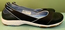 MERRELL Mezame Ballet Black Leather Shoes Women 8