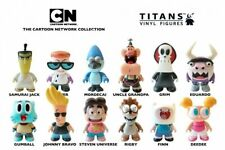 Cartoon Network Titans Vinyl Mini Figures New Dexter Deedee Grim Steven Mordecai