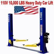 A++10,000 L1000 2 Post Lift Car Auto Truck Hoist 110V