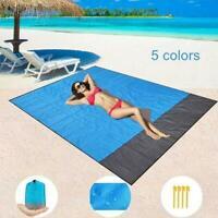Beach Mat Large Picnic Blanket Family Waterproof Camping Rug Camping Travel Pack