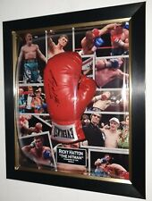 RICKY HATTON SIGNED BOXING GLOVE Autographed Display with AFTAL DEALER COA