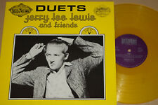 JERRY LEE LEWIS AND FRIENDS -Duets- LP Yellow Vinyl,  Bellaphon / SUN Records