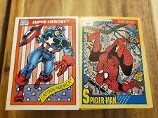 Marvel Cards 1990,1991 Sets No Holos