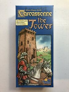 Carcassonne THE TOWER Expansion NEW SEALED 1st Edition 2006 Rio Grande Games
