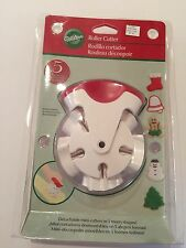 Wilton 2308-1054 Christmas Holiday Roller Cookie Cutter 5 Shapes New