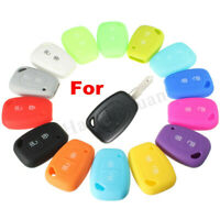 2 Button Silicone Remote Key Fob Case Cover For Renault Kangoo Master Trafic ~