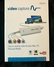 Elgato Video Capture - Digitize Video for Mac, PC or iPad(1VC104001001) - NEW