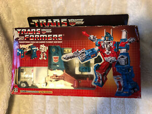 Vintage 1980's Hasbro G1 Transformers - Ultra Magnus + Instructions BOXED TOY 😘
