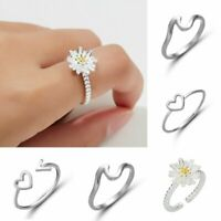 Ocean Wave Fashion Crystal Rings Women Wedding Engagement Promise Party Jewelry