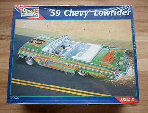 '59 Chevy Lowrider convertible, Revell-Monogram 1/25 Model Kit #85-2516