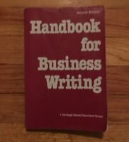 McGraw-Hill Handbooks: Handbook for Business Writing by Maridell Fryar and L Sue