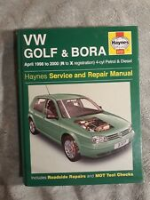 Volkswagen Golf and Bora Petrol and Diesel (1998-2000) Service and Repair Manua…