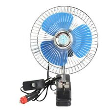 12V Car Cooling Fan Portable Clip Fans 180° rotation Adjustable Fans Car Oscilla