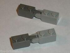 LEGO STAR WARS Hinge Bricks 30364 DkStone & 30365 MdStone / Set 10179 6206 7676