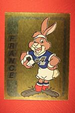 Panini EURO 92 N. 41 FRANCE MASCOTTE NEW WITH BLACK BACK TOP MINT!!