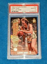 LARRY BIRD 1993 ACTION PACKED # 19 BASKETBALL HALL OF FAME PSA 10 🔥