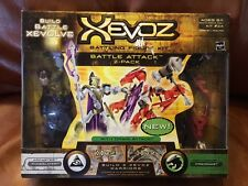 Xevoz Battle Attack 2-pack Arcaster Runeslayer & Reptosaur Firedrake NEW OOP