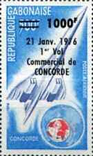 Timbre Avions Concorde Gabon PA173 * lot 27212