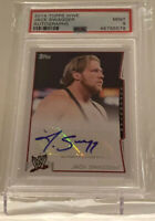 TOPPS 2014 WWE JACK SWAGGER AUTHENTIC AUTOGRAPH JAKE HAGER PSA 9 POP 1 WWE AEW