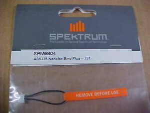 SPEKTRUM SPM6804 = AR6335 NANOLITE BIND PLUG - JST  (NEW)