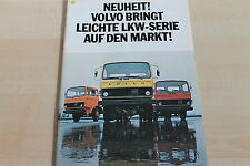 151165) Volvo LKW F 609 611 613 Prospekt 1975