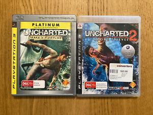 Uncharted Drake's Fortune & Uncharted 2 Among Thieves PS3